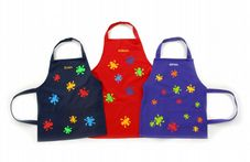 CHILDRENS PAINTING SPLAT APRON